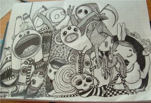 doodle drawing 1