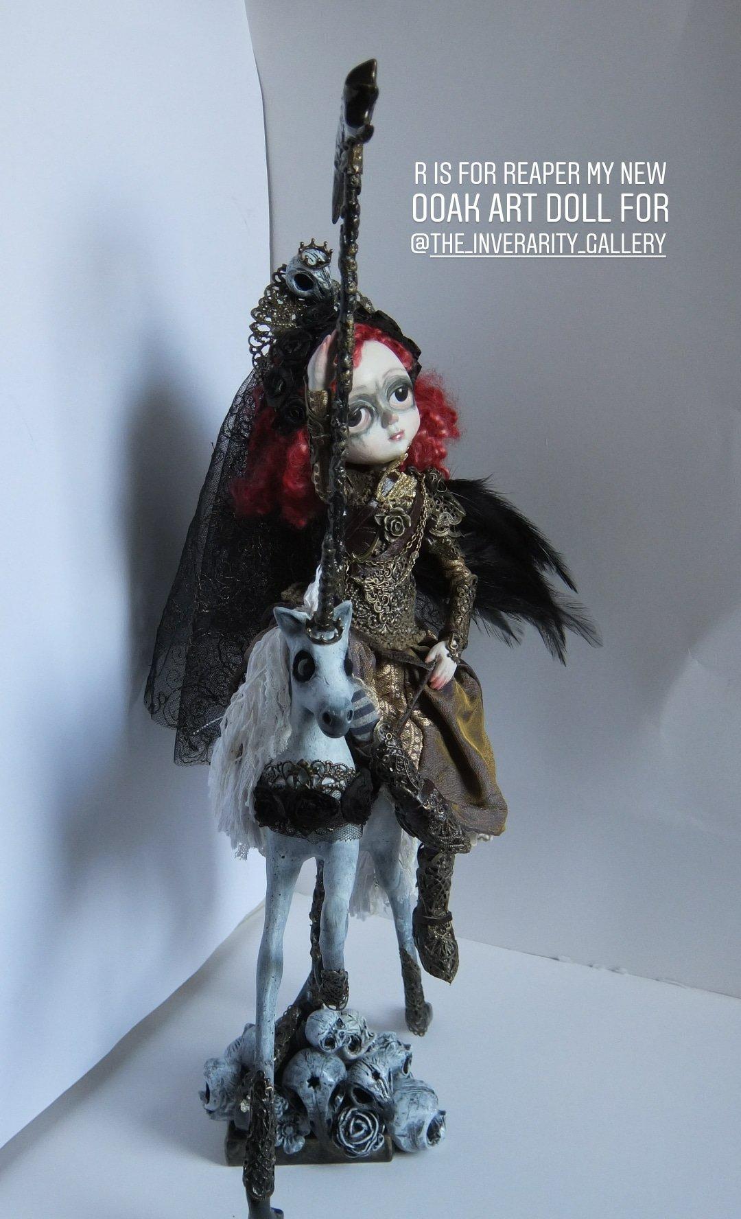Sculptured Fabric Moon Man in the moon OOAK Art Doll Art Textile